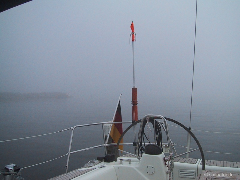 Nebel in Rønne
