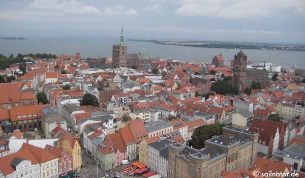 Aussicht auf Stralsund