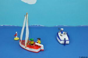 Boje über Bord